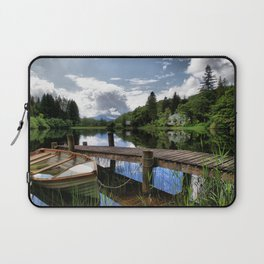Tranquility At Loch Ard Laptop Sleeve