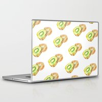 kiwi Laptop & iPad Skins featuring Kiwi by Imanol Buisan