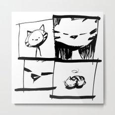 minima - IA - catnap Metal Print