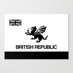 British Republic Canvas Print