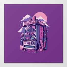 Retro gaming machine Canvas Print