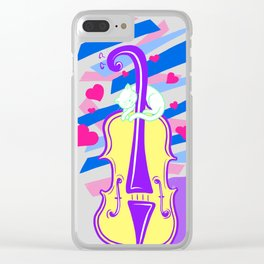 Cello Love Clear iPhone Case