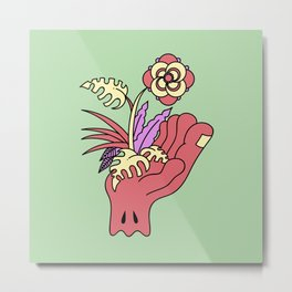 Picking flowers 2 Metal Print