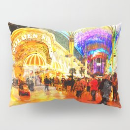 Fremont Street Experience Las Vegas Pillow Sham