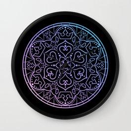 Kingdom Mandala Wall Clock
