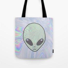 Alien Pastel Tote Bag