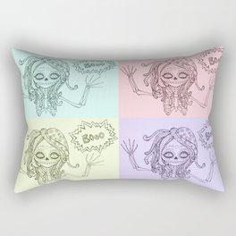 Booo! Rectangular Pillow