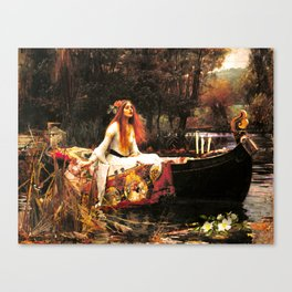The Lady of Shalott Remastered Canvas Print