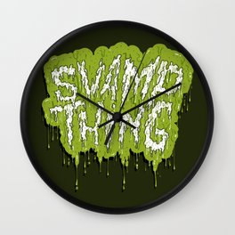 Swamp Thing Wall Clock