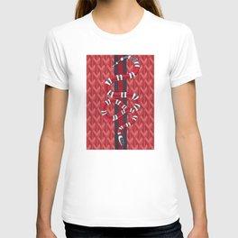 goyard snake red T-shirt