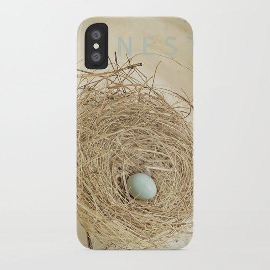 Petit Nest iPhone Case
