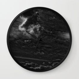 clouds 01 Wall Clock