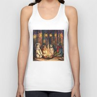 helen Tank Tops featuring Camp Meeting By Helen Green by Bear Picnic