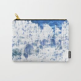 Light blue watercolor Carry-All Pouch