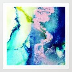 Rosa Caelum Art Print