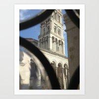 Through the Murano Glass Art Print