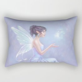 Opalite Fairy Rectangular Pillow