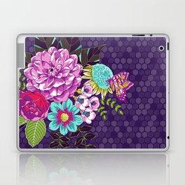 Bloomin' Beauties Violet Laptop & iPad Skin