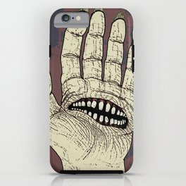 Hungry Hand iPhone Case
