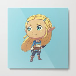 Princess of Hyrule Metal Print