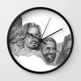 Mount Awesomore Wall Clock