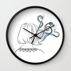 Cthulhu Girl Wall Clock