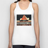 pyramid Tank Tops featuring pyramid by pcart