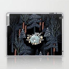 fairytale night forest Laptop & iPad Skin