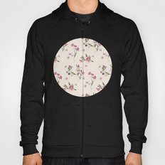Scattered Floral on Cream Hoody
