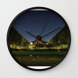 Clear Night Wall Clock