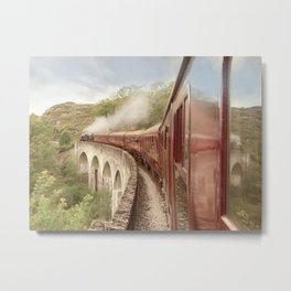 Full Steam Ahead Metal Print