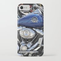 harley iPhone & iPod Cases featuring Harley by Veronica Ventress