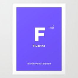 Fluorine Art Print