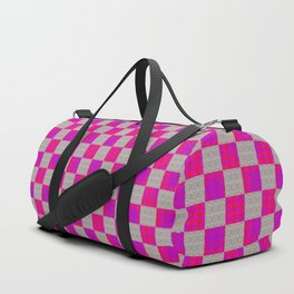Checker Out Duffle Bag