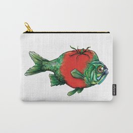 Tomato Fish Carry-All Pouch