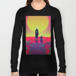 PHAZED PixelArt 2 Long Sleeve T-shirt