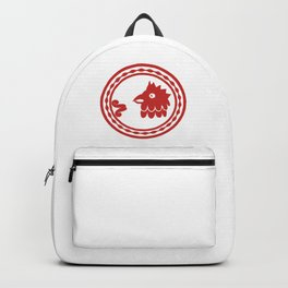 Mayan rooster Backpack