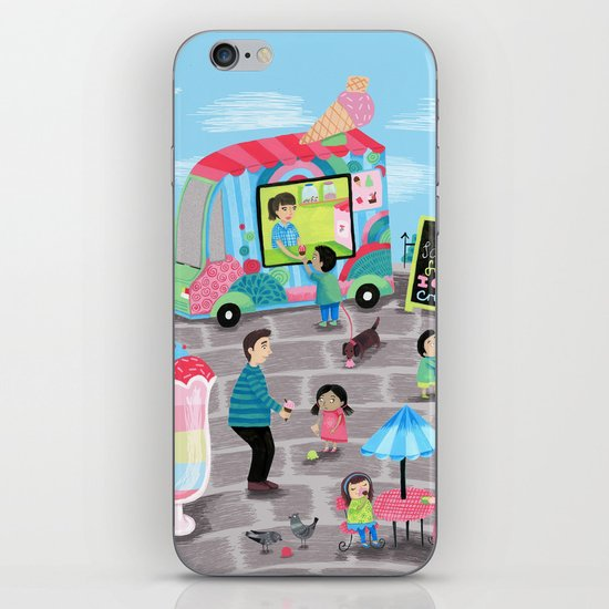 I Scream for Ice Cream iPhone Skin