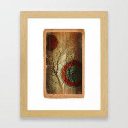 Tree oo3 Framed Art Print