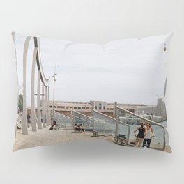 Port Vell view - Barcelona Pillow Sham