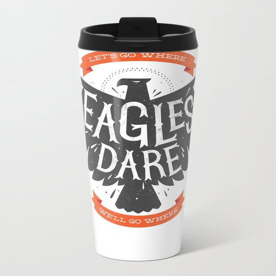 Where Eagles Dare Metal Travel Mug