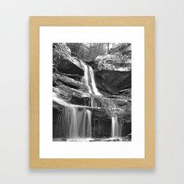 Hidden Falls Framed Art Print