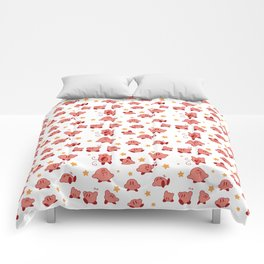 Kirby Pattern Comforters