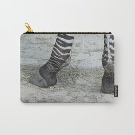 Zebra Shoes Carry-All Pouch