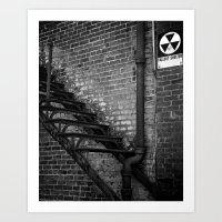 fallout Art Prints featuring Fallout by BrandonAddisArt