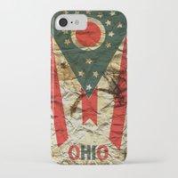 ohio iPhone & iPod Cases featuring OHIO by Bili Kribbs