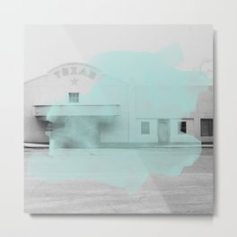Blue Texas / Marfa Metal Print