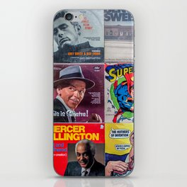 Old Records iPhone Skin