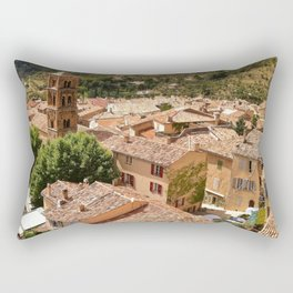 Rustic French Village Rectangular Pillow