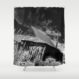 Bodie ghost town house Shower Curtain